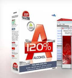 Alcohol 120 Free Edition | программа для записи дисков
