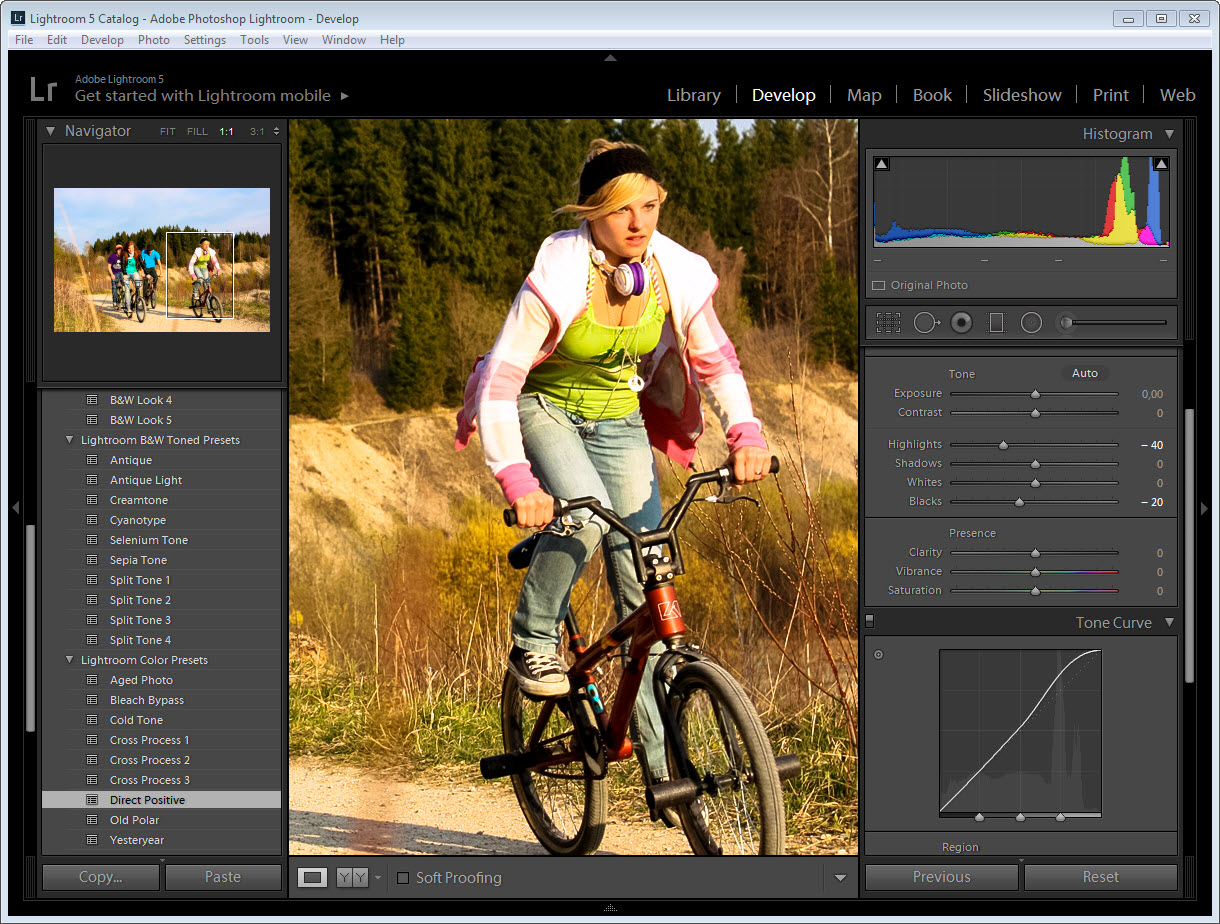 photoshop lightroom на русском