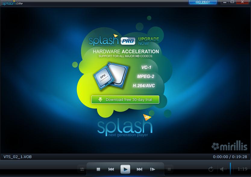 splash lite player скачать для windows 7
